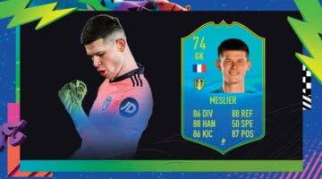 Imagen de FIFA 21: Illan Meslier Jugador de Nación de plata es la nueva carta gratuita de Ultimate Team