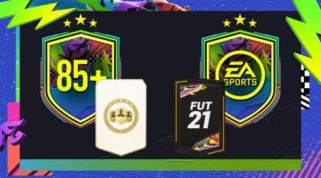 """Imagen de FIFA 21: ¿Merecen la pena los SBC's """"Elección de jugador 85+"""" y """"Desafío del Festival de FUTbol""""?"""