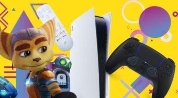 Imagen de Consigue el nuevo Ratchet & Clank y muchos más juegos y accesorios para PS5 con esta promoción de GAME