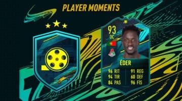 Imagen de FIFA 21: ¿Merece la pena Éder Moments? + Solución del SBC