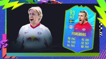 Imagen de FIFA 21: ¿Merece la pena Emil Forsberg Jugador de Nación? + Solución del SBC