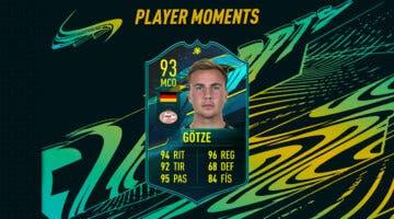 Imagen de FIFA 21: ¿Merece la pena Mario Götze Moments? + Solución del SBC