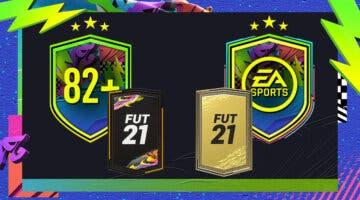 """Imagen de FIFA 21: ¿Merecen la pena los SBC's """"Mejora 82+ x8"""" y """"Desafío del Festival de FUTbol""""?"""