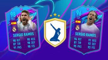 Imagen de FIFA 21: ¿Merece la pena Sergio Ramos Fin de Una Era? ¿Qué versión elijo? + Solución del SBC