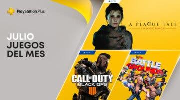 Imagen de PS Plus julio de 2021: estos son los juegos gratis del servicio