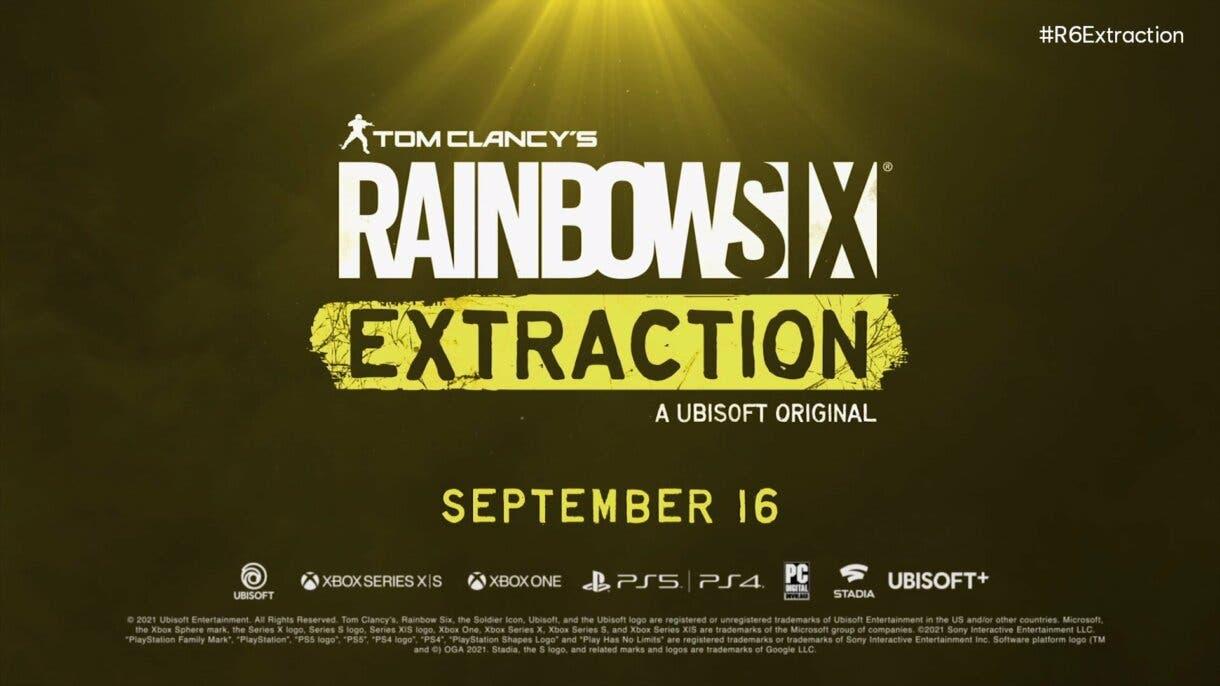 rainbow six extraction fecha