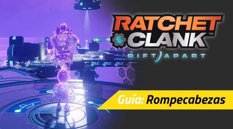 Imagen de Cómo completar todos los rompecabezas (anomalías dimensionales) en Ratchet & Clank: Una Dimensión Aparte