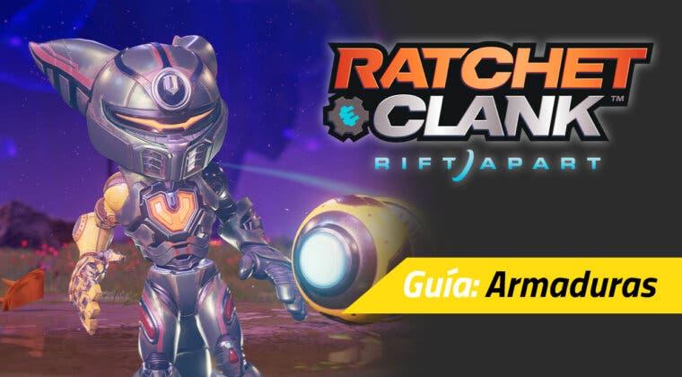 Imagen de Cómo conseguir todas las armaduras de Ratchet & Clank: Una Dimensión Aparte y sus bonificaciones permanentes