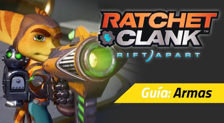 Imagen de Lista de todas las armas (y su versión al nivel máximo) de Ratchet & Clank: Una Dimensión Aparte