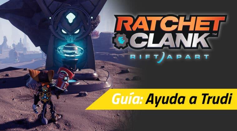 """Imagen de Cómo completar la misión secundaria """"Ayuda a Trudi"""" en Ratchet & Clank: Una Dimensión Aparte"""