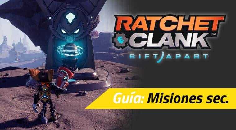 Imagen de Todas las misiones secundarias de Ratchet & Clank: Una Dimensión Aparte y cómo completarlas