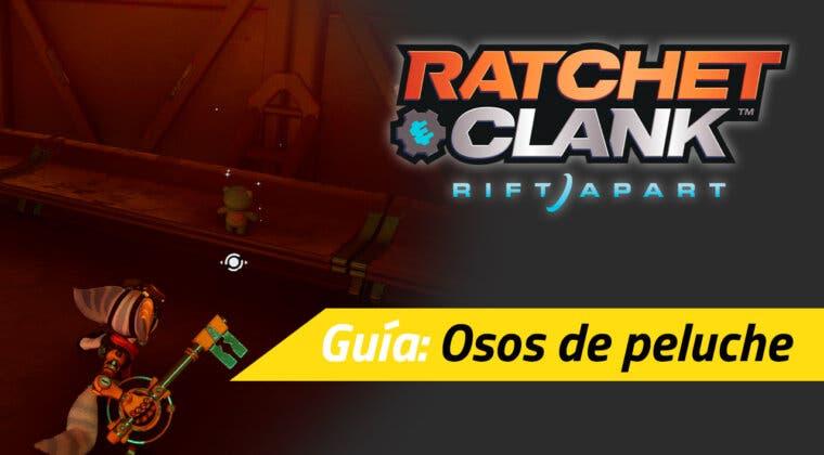 Imagen de Localización de todos los osos de peluche de Ratchet & Clank: Una Dimensión Aparte