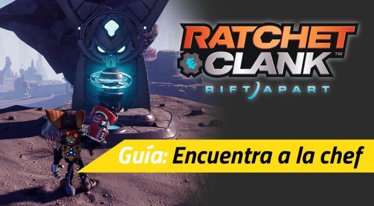 """Imagen de Cómo terminar la misión secundaria """"Encuentra a la chef desaparecida"""" de Ratchet & Clank: Una Dimensión Aparte"""