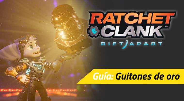 Imagen de Todos los guitones de oro de Ratchet & Clank: Una Dimensión Aparte y dónde encontrarlos