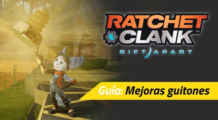 Imagen de Ratchet & Clank: Una Dimensión Aparte: estos son los beneficios y recompensas por conseguir los guitones de oro