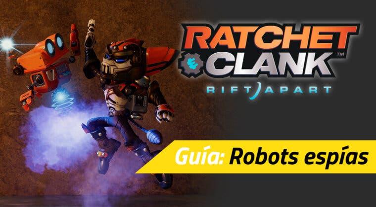 Imagen de Dónde están y cómo conseguir todos los robots espías de Ratchet & Clank: Una Dimensión Aparte