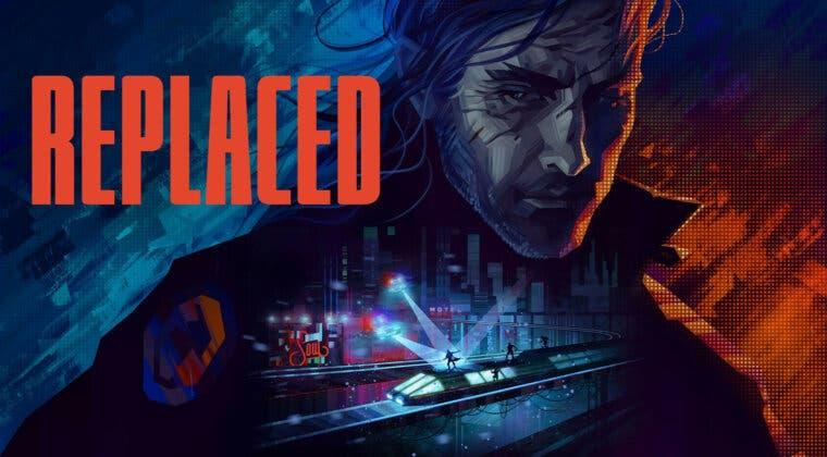 Imagen de Acción retrofuturista y ciencia ficción se juntan en el atractivo anuncio de REPLACED