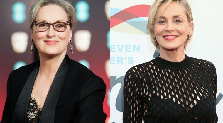 """Imagen de La rivalidad entre Sharon Stone y Meryl Streep se hace patente: """"hay otras con tanto talento como ella"""""""