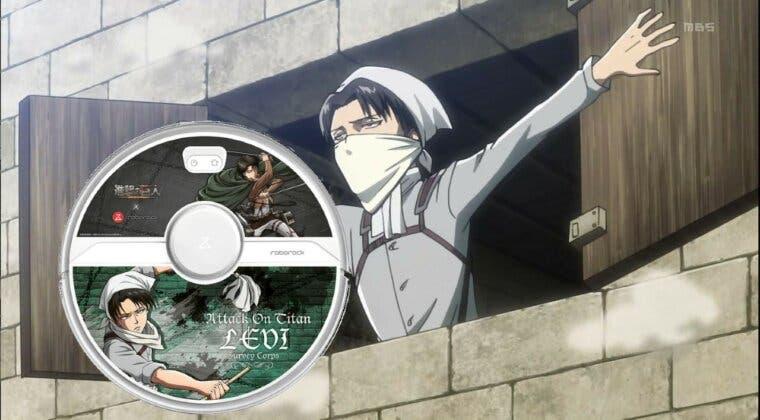 Imagen de Ya puedes hacer que Levi (Shingeki no Kyojin) te limpie la casa con su propia Roomba