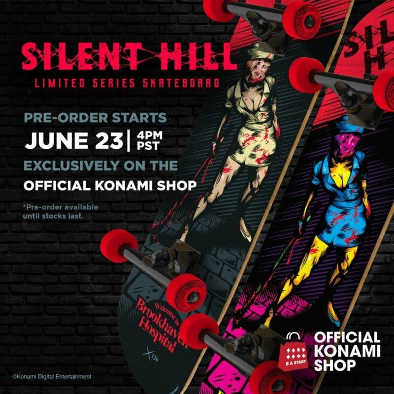 skate silent hill