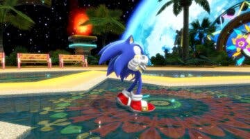 Imagen de Sonic Colors Ultimate muestra uno de sus niveles más conocidos a través de un gameplay
