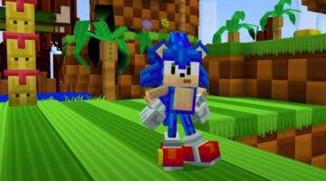 Imagen de Sonic llega a Minecraft de forma oficial con este peculiar DLC que es casi un juego propio
