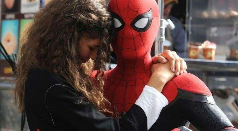 Imagen de La cariñosa felicitación de Zendaya a Tom Holland que revela más del rodaje de Spider-Man: No Way Home