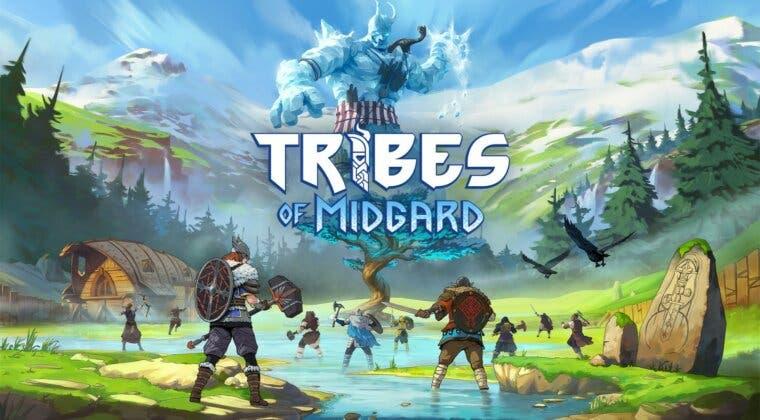 Imagen de Tribes of Midgard ya cuenta con fecha de lanzamiento y festeja con una respectiva exhibición