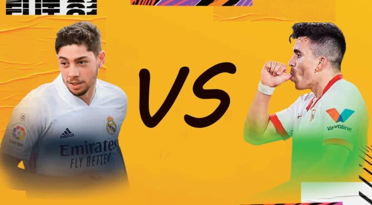 Imagen de FIFA 21: Acuña FOF vs Valverde TOTS. ¿Qué MC de la Liga Santander es mejor?