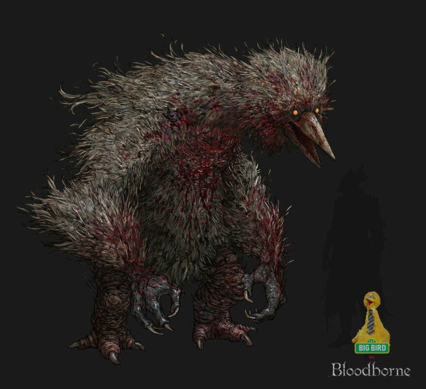 yongs bigbird bloodborne detail02