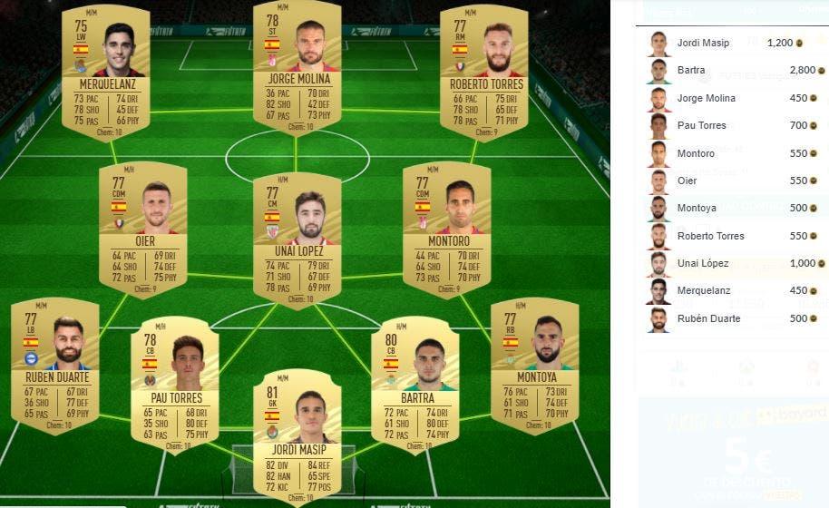 FIFA 21 Ultimate Team SBC Elección Premier FUTTIES Día de votación