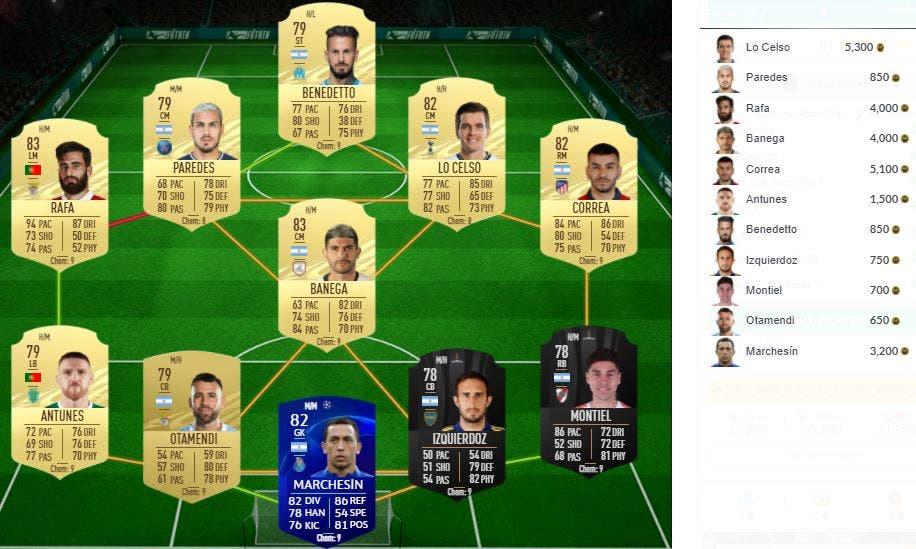 FIFA 21 Ultimate Team SBC Partidos clave históricos The Lilywhites