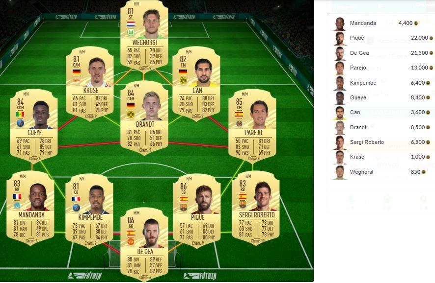FIFA 21 Ultimate Team SBC Dolberg Summer Stars