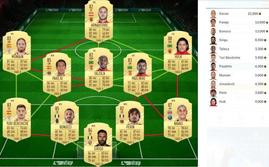 FIFA 21 Ultimate Team SBC Di María Summer Stars FOF