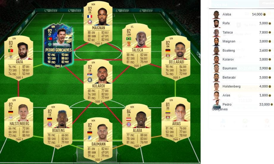 FIFA 21 Ultimate Team SBC Saint-Maximin FUTTIES