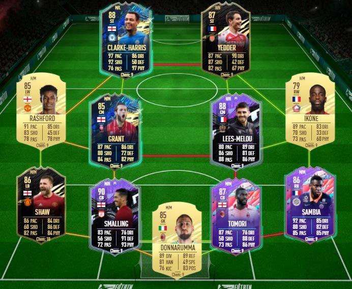 FIFA 21 Ultimate Team Guía Tavernier Alessandrini FUTTIES