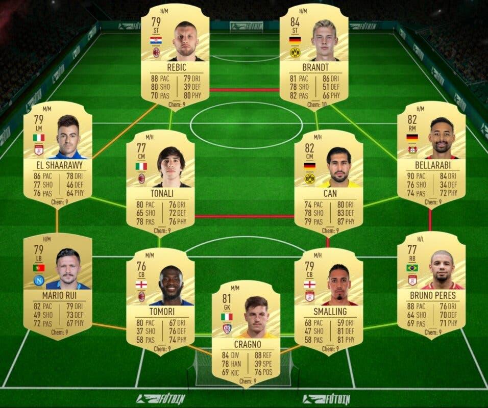 FIFA 21 Ultimate Team Guía Gosens Jugador de Nación Alemania FOF