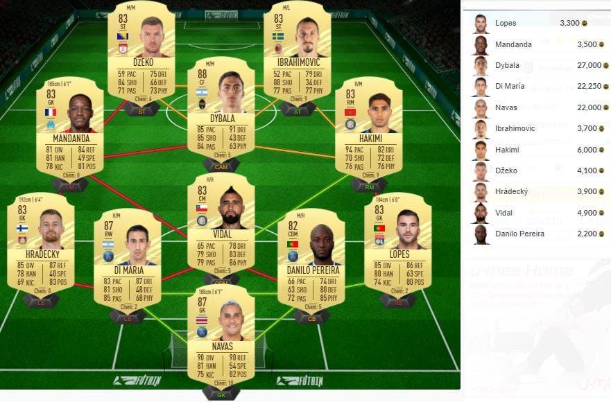 FIFA 21 Ultimate Team SBC Schick Summer Stars FOF