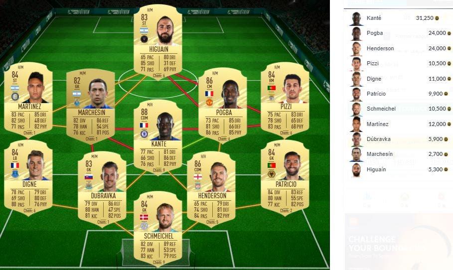 FIFA 21 Ultimate Team SBC Rice Showdown