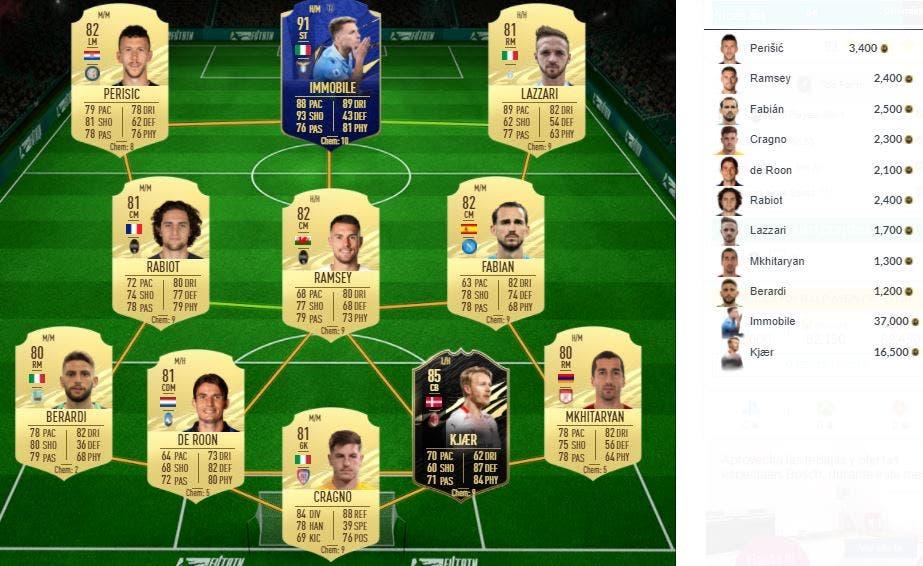 FIFA 21 Ultimate Team SBC Coman FUTTIES