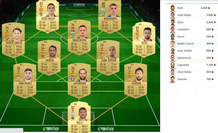 FIFA 21 Ultimate Team SBC Zaha FUTTIES