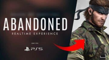 Imagen de Abandoned podría ser, de hecho, un Metal Gear Solid, según un filtrador