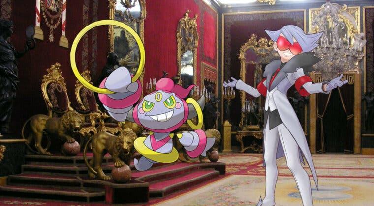 Imagen de Pokémon Masters EX: Así es la pareja de compis formada por Alik y Hoopa
