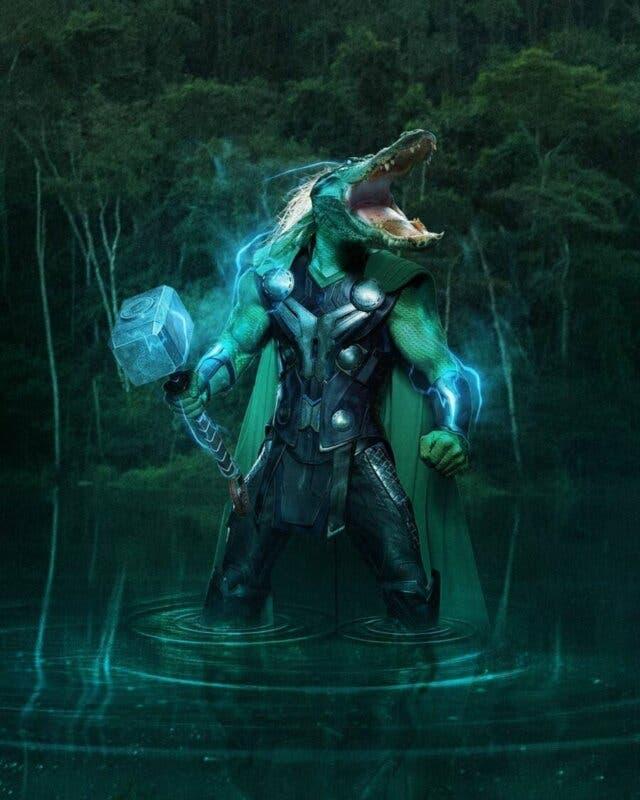 alligathor loki
