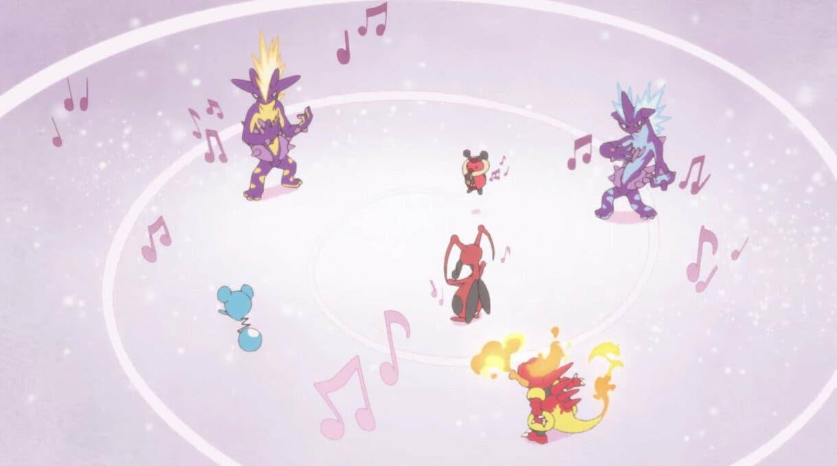 anime de Pokemon corto Magikarp musica