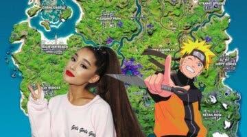 Imagen de Ariana Grande y Naruto, cada vez más cerca de Fortnite