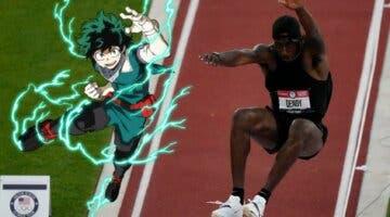 Imagen de El atleta Marquis Dendy se convierte en un héroe de Boku no Hero Academia gracias a este gran 'fan art'