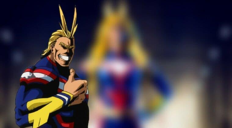 Imagen de All Might (Boku no Hero Academia) recupera el trono de los héroes con este cosplay femenino