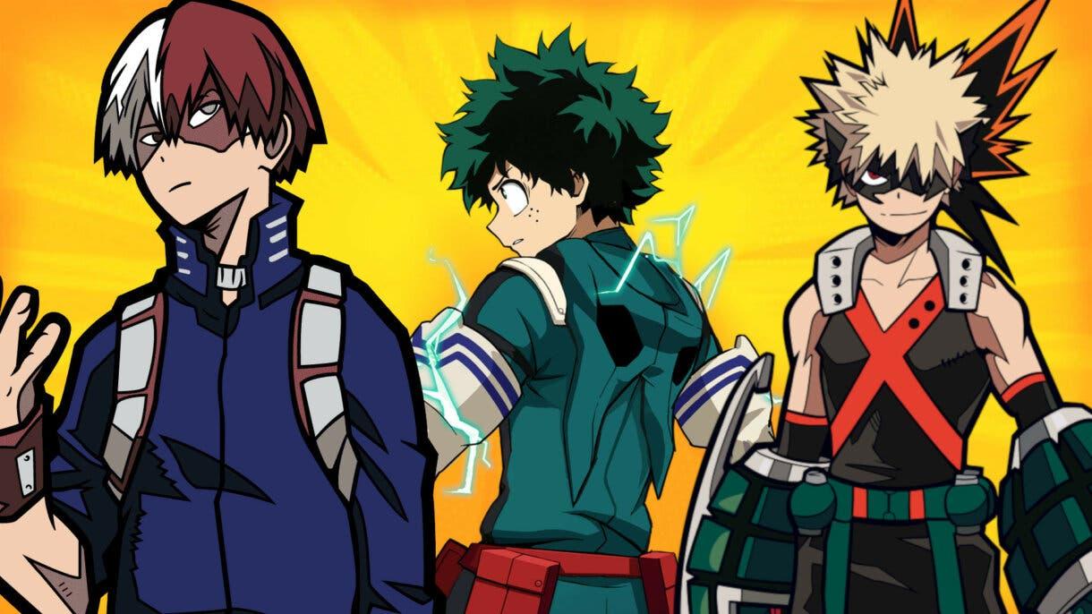 Te explicamos el significado de los nombres del anime Boku no Hero