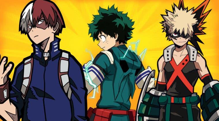 Imagen de Boku no Hero: Deku, Bakugo, Shoto, ¿qué significan los nombres de los personajes?